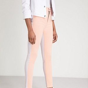 rag & bone High rise skinny peach/Lila 27 NWT
